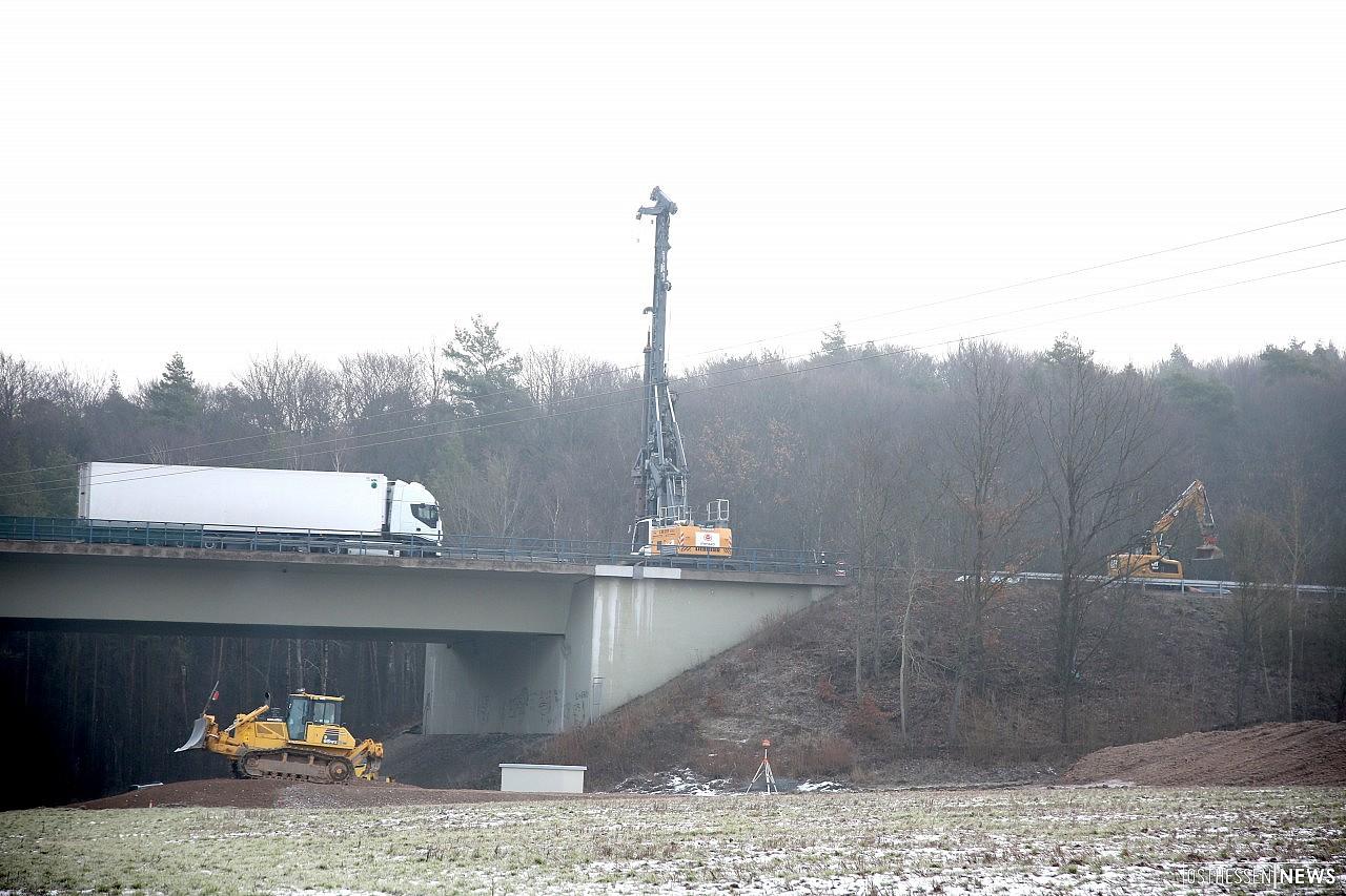 Marode Bauwerke auf der A7: Insgesamt vier Brücken werden erneuert